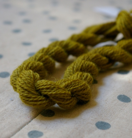 Prunus on wool