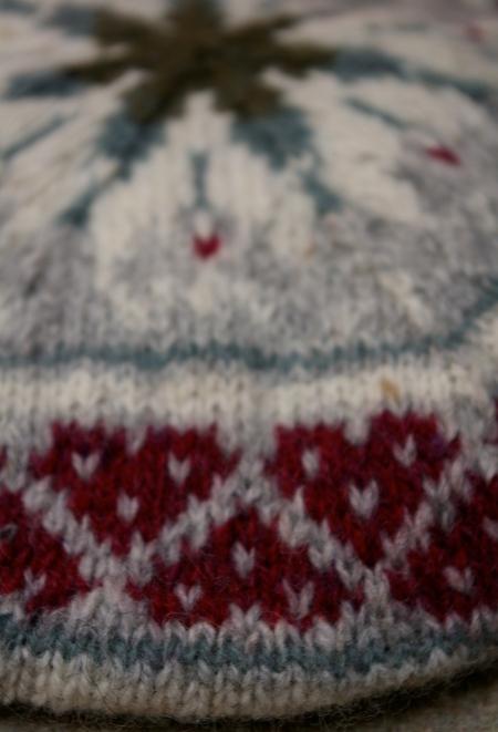 Stranded colourwork hat