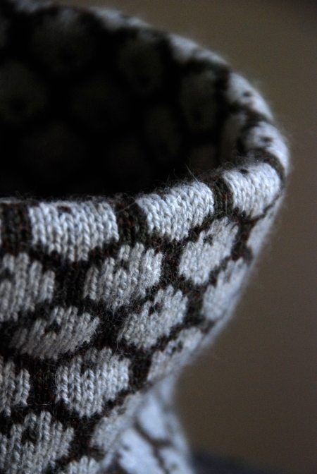 Honeycomb cowl: detail