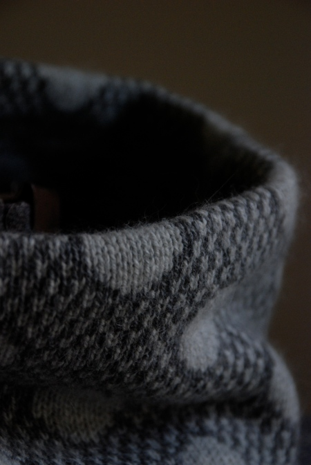 Snow cowl: detail