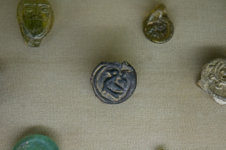 Glass seals- or were they coins?