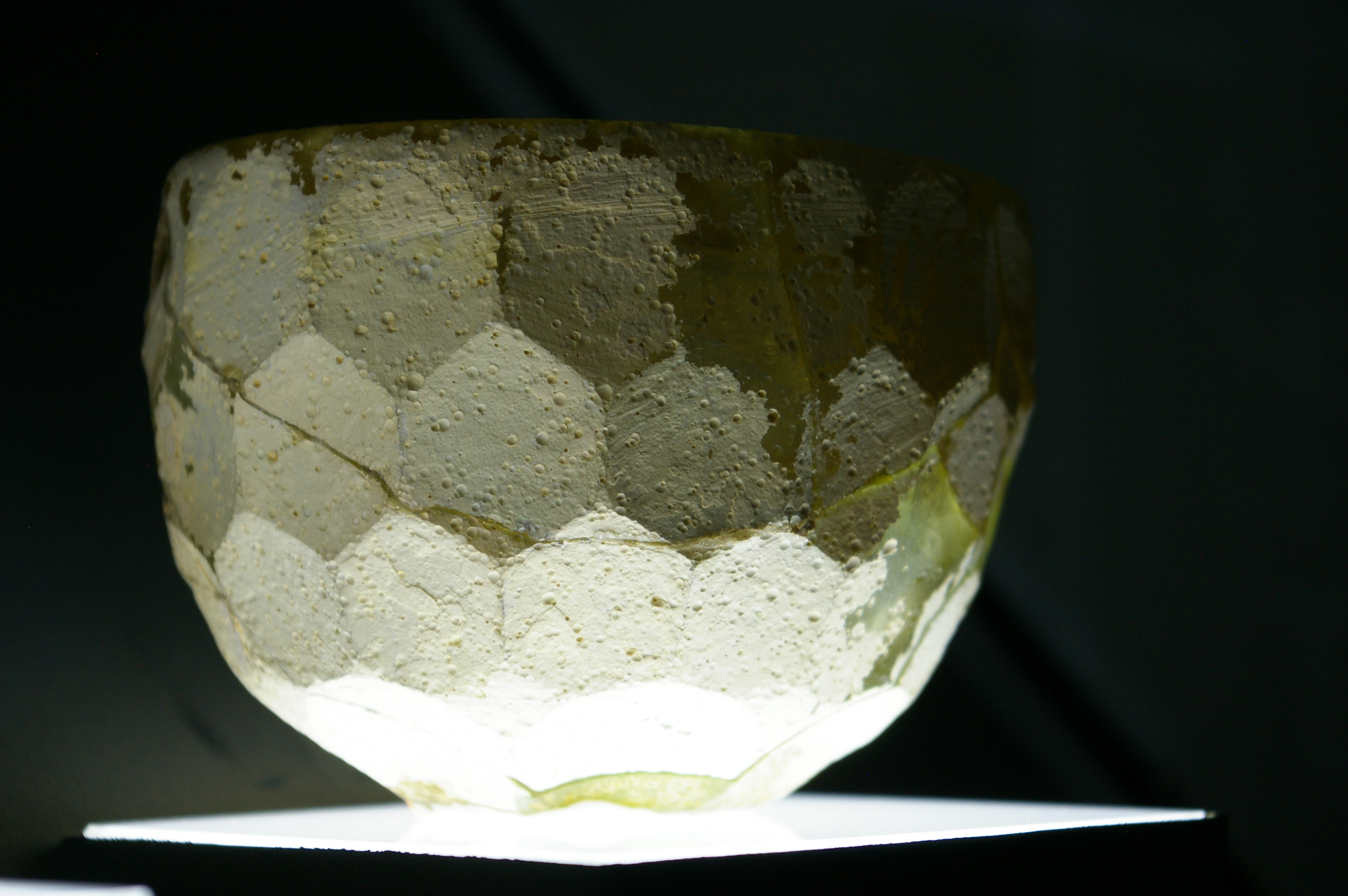 Cut-glass bowl, 3rd century AD, Gilan, northwest Iran