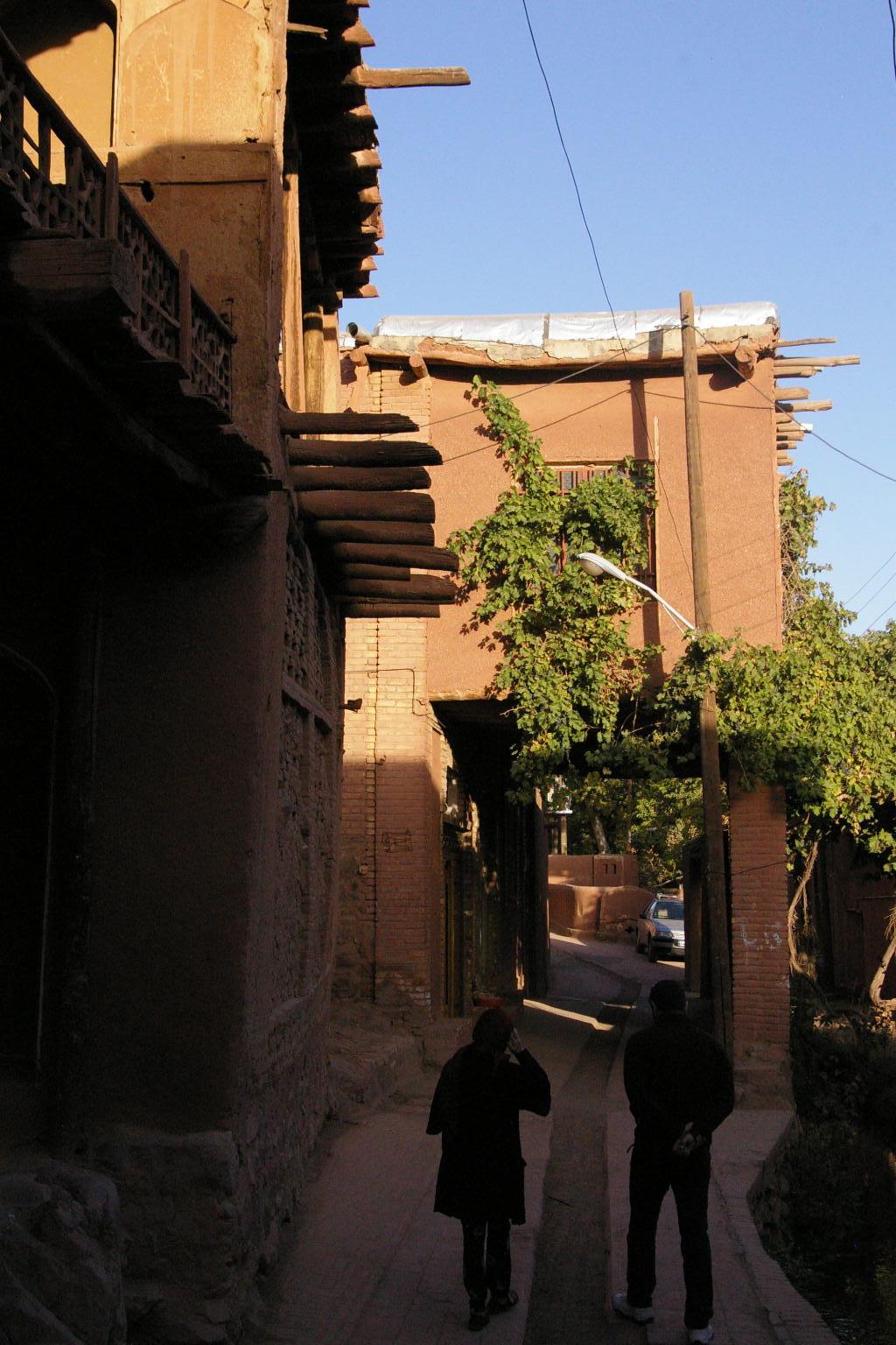 Abyaneh houses
