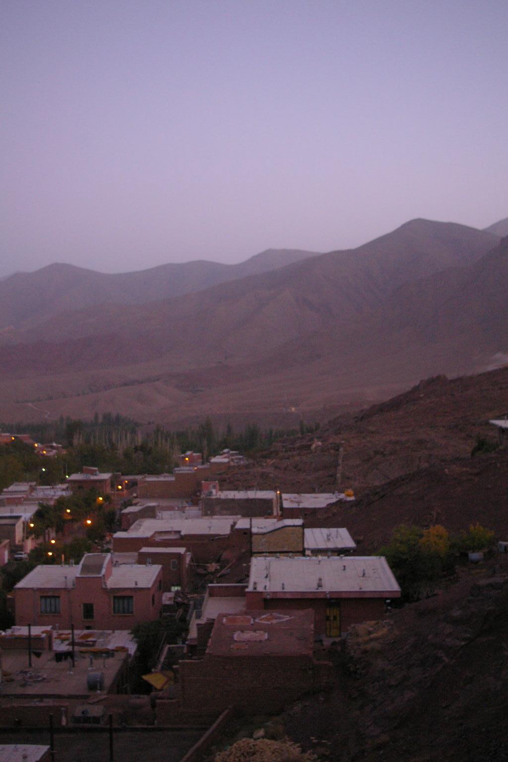 Dusk, Abyaneh