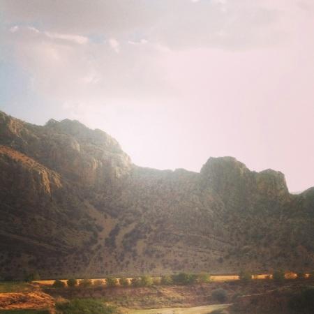 Limestone peaks
