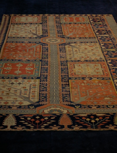 Stunning tribal rug reflecting the Persian garden or paradise