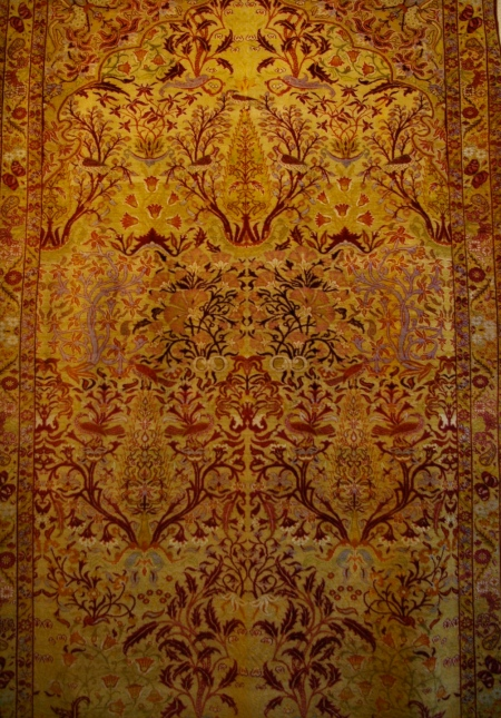 Silk city carpet