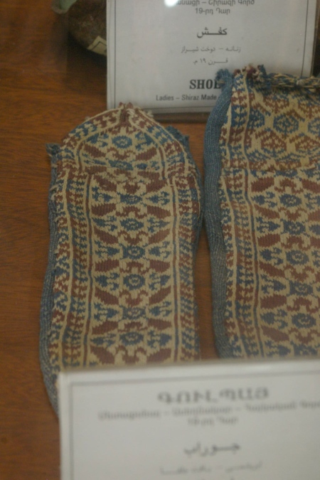 Very fine, knitted socks, Armenia
